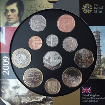 2009 Brilliant Uncirculated Coin Collection